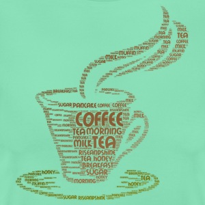 coffee word cloud - Women's T-Shirt