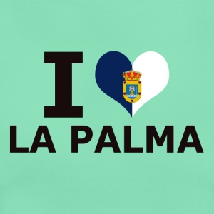 I LOVE LA PALMA FLAG - Women's T-Shirt
