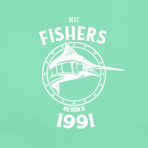Present for fishers born in 1991 - Women's T-Shirt
