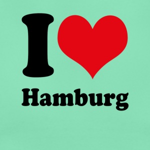 I love Hamburg - Frauen T-Shirt
