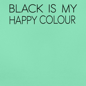 black_is_my_happy_color - T-shirt dam