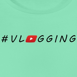 YouTube #Vlogging - T-skjorte for kvinner