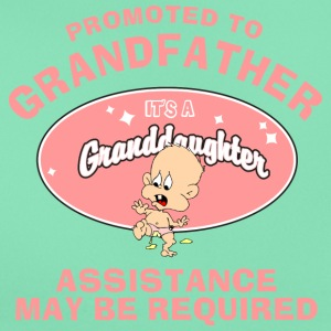 Promoted To Grandfather Granddaughter - Women's T-Shirt