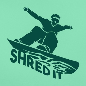 SHRED IT - Boarder Macht - Vrouwen T-shirt