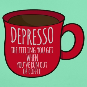 Coffee: Depresso - the feeling you get when ... - Women's T-Shirt