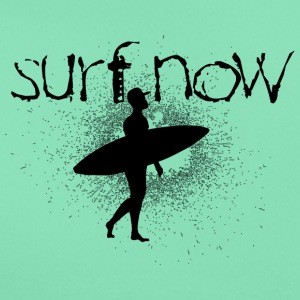 surf now surfer with cap black - Women's T-Shirt