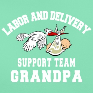 Grandpa Labor Delivery Support Team - Women's T-Shirt