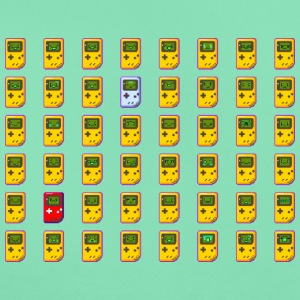 8-bit retro Game Boy emojis - T-skjorte for kvinner