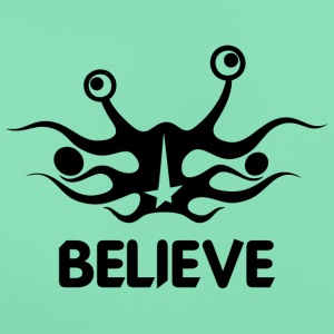 Believe into flying spaghetti monster - Women's T-Shirt