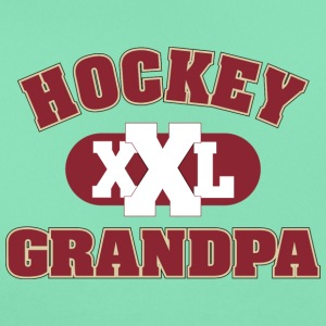 Hockey Grandpa Grandfather - Women's T-Shirt