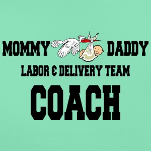 Zwangere Labor Delivery Team Coach - Vrouwen T-shirt