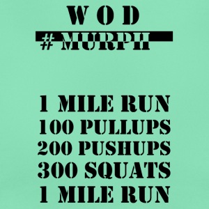 WOD Murph black - Women's T-Shirt