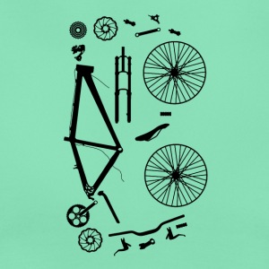 Bicycle Parts - Women's T-Shirt