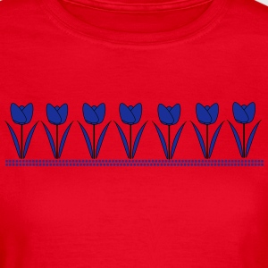 tulips - Women's T-Shirt