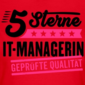 5Sterne IT-Managerin - Frauen T-Shirt