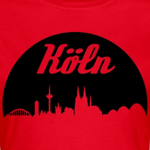 Cologne skyline - Women's T-Shirt