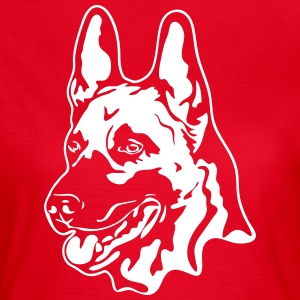MALINOIS PORTRAIT - Women's T-Shirt