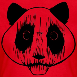 Black Metal Panda - T-skjorte for kvinner