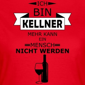 Kellner - Frauen T-Shirt