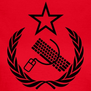 The keyboard and mouse Communist - Geek Flag - Women's T-Shirt
