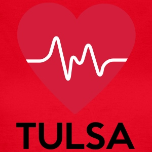 heart Tulsa - Women's T-Shirt