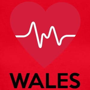 heart Wales - Women's T-Shirt