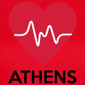 heart Athens - Women's T-Shirt