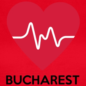 Heart Bucharest - Women's T-Shirt