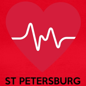 Heart St Petersburg - Women's T-Shirt