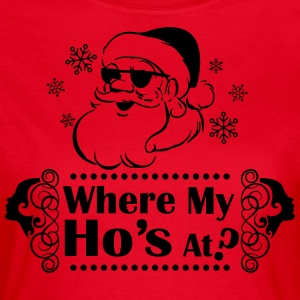 Where_My_Hos_at - Vrouwen T-shirt