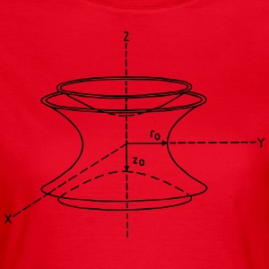 Physics Paul val - Vrouwen T-shirt