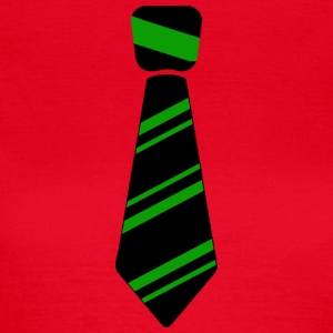 tie green - Women's T-Shirt