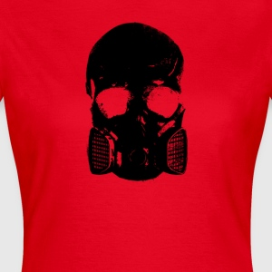 anti gas skalle - T-shirt dam