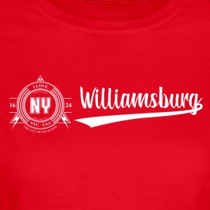 New York City · Williamsburg - Vrouwen T-shirt