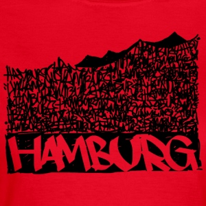 Hamburg Music Hall - Sort - Dame-T-shirt