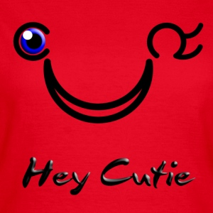 Hey Cutie Blue Eye Wink - T-shirt dam
