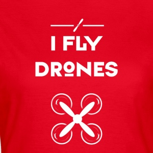 Drone fly heli flight control drones quadrocopt - Women's T-Shirt