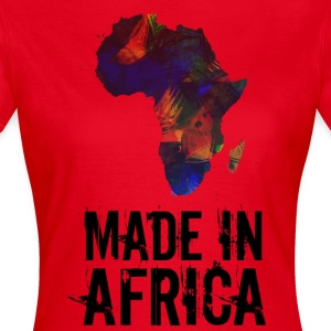 Made In Africa / Afrika - Vrouwen T-shirt