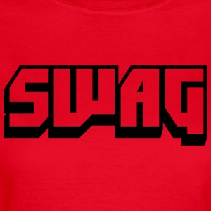 SWAG Transparent Schwarz - Frauen T-Shirt