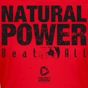 DISTRICT IRON - NATURLIG POWER - Dame-T-shirt