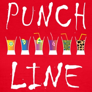 PUNCH LINE - Frauen T-Shirt