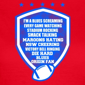 I am a blues screaming - Women's T-Shirt