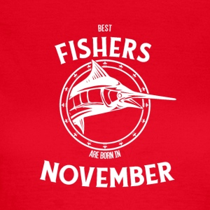 Present for fishers born in November - Women's T-Shirt