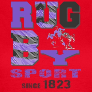 RUGBY SINDS 1823 - Vrouwen T-shirt