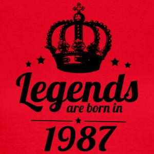 Legends 1987 - Dame-T-shirt