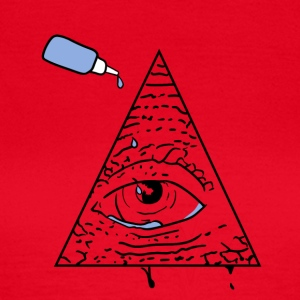 Alle Seeing Eye - Dame-T-shirt