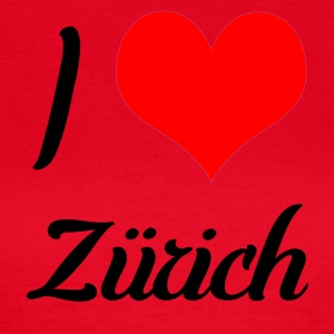 I love Zurich - Women's T-Shirt