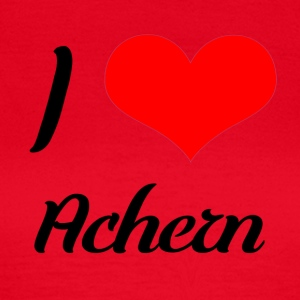 I love Achern - Women's T-Shirt