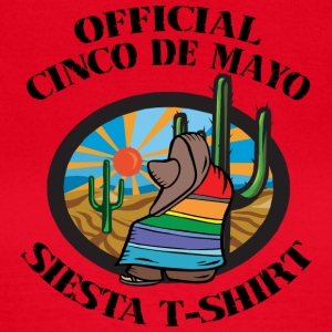 Cinco de Mayo Siesta T-Shirt - Frauen T-Shirt