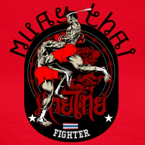 Muay Thai Fighter - Frauen T-Shirt